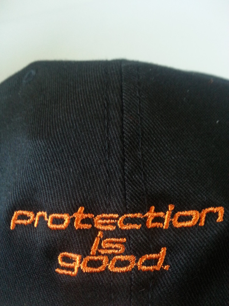 Obie Link Guard Flat-Brimmed Hat (back)