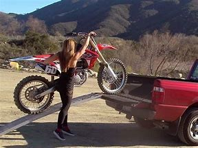 Dirt Bike Ramp >> Safest Way For One Person To Load A Dirt Bike
